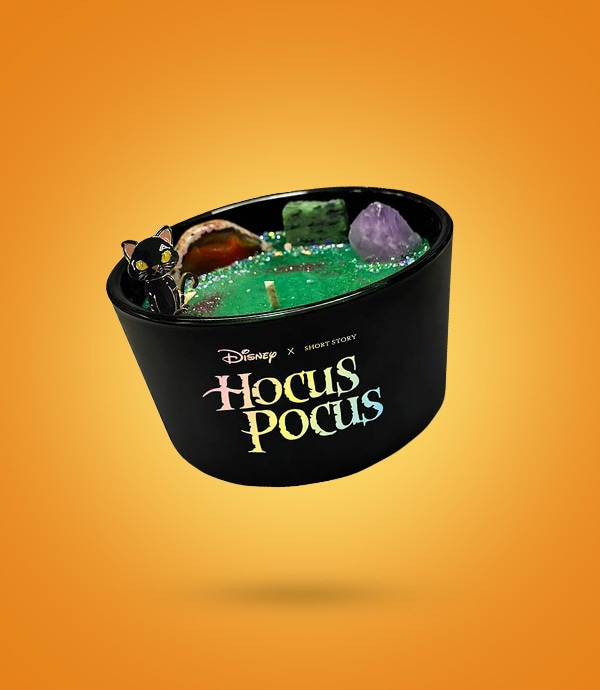 The Hocus Pocus candle from the Disney x Short Story collection