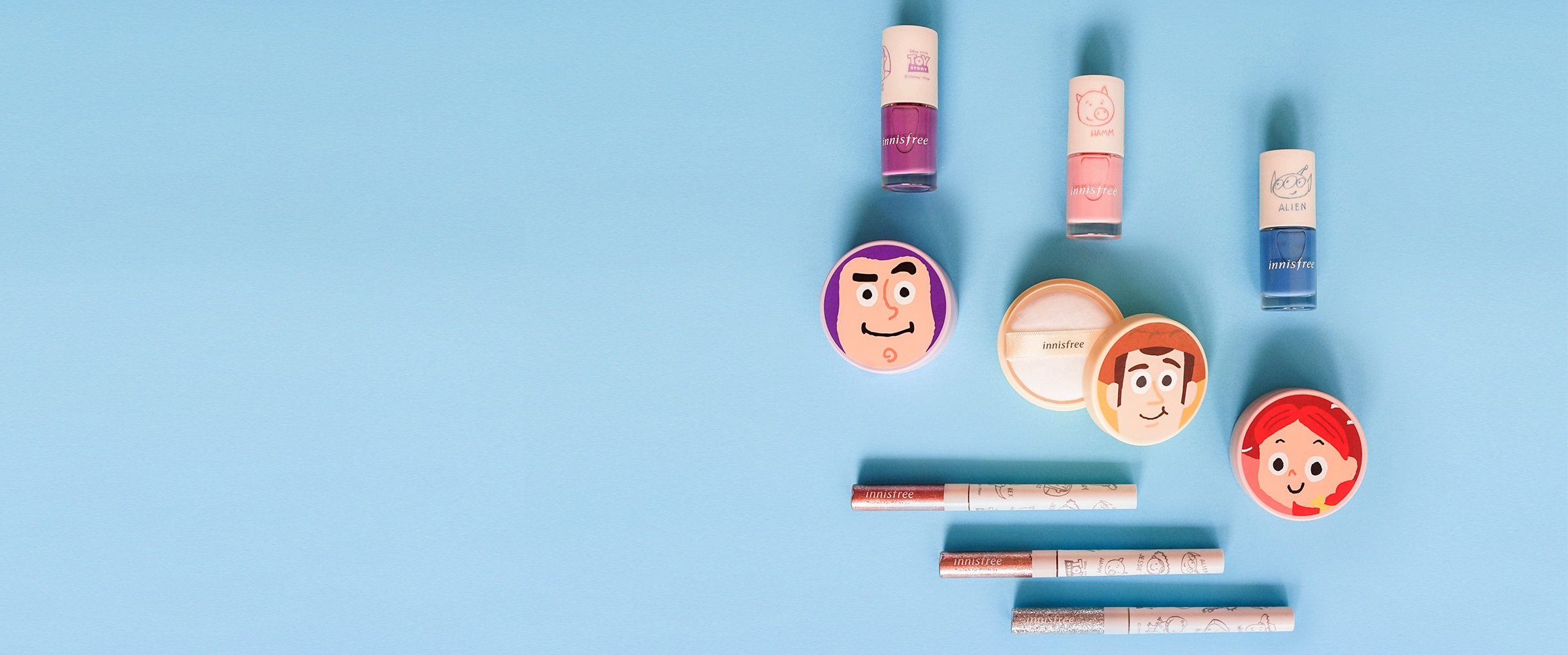 Shop | Shop Landing | Hero | Innisfree Toy Story Collection