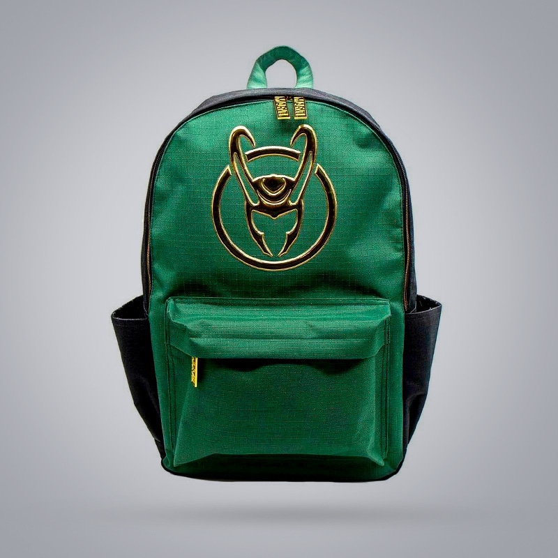 Shop Zing's exclusive Loki collection of backpacks, hats, tees and more.