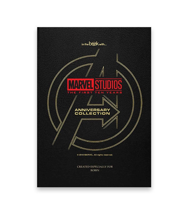 Personalised Avengers Storybook Collection