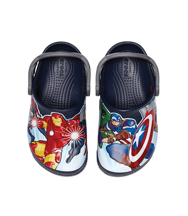 Shop Marvel - Clothing and Accessories - Avengers Character Crocs