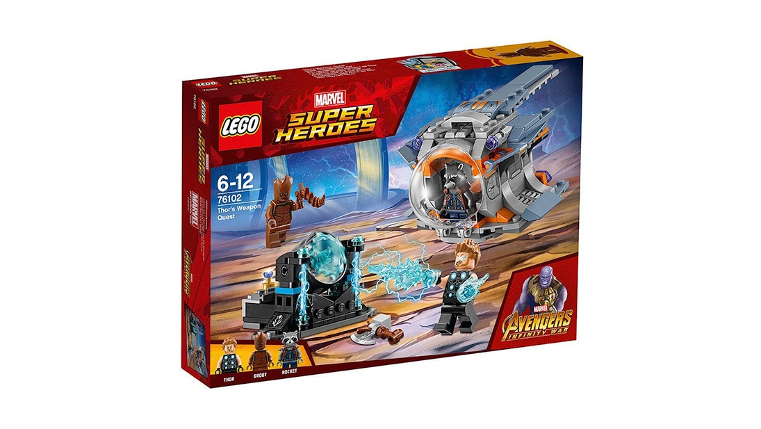 Shop Marvel - Toys - LEGO® Marvel Super Heroes Thor's Weapon Quest