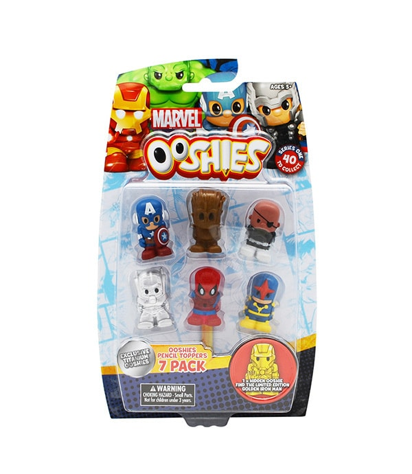 Shop Marvel - Toys - Ooshies 7 Pack