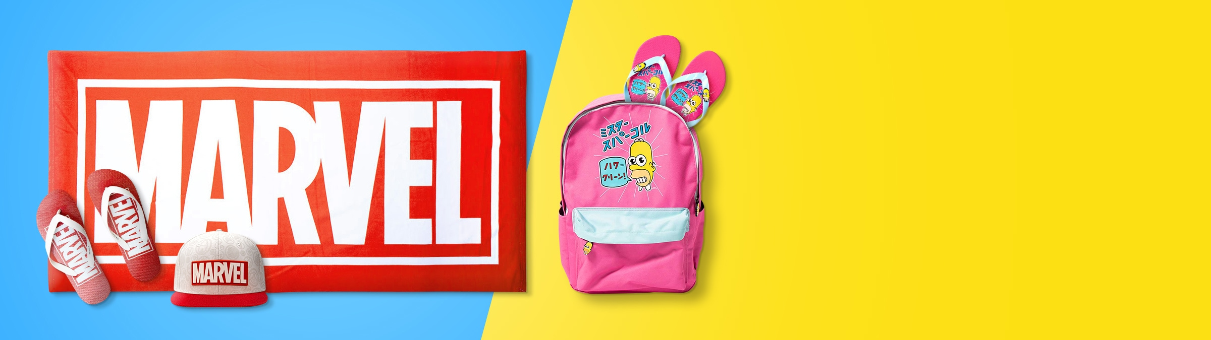 Shop - Marvel - The Simpsons - Summer Favourites - Zing