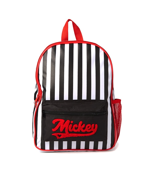 Mickey Striped Backpack