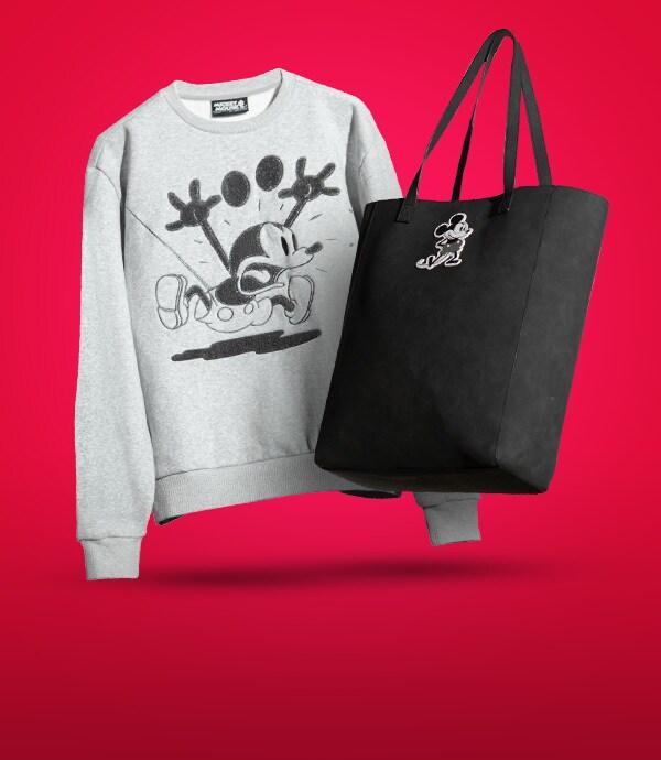 Disney's Mickey Mouse Greyscale adults fashion range