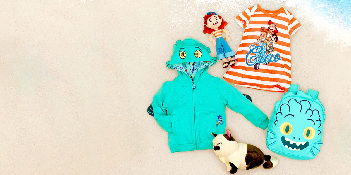 shopDisney UK   Disney and Pixar's Luca   Collection