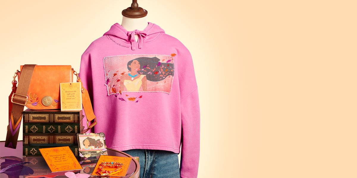 Items from the Ultimate Princess Pocahontas range available at shopDisney UK