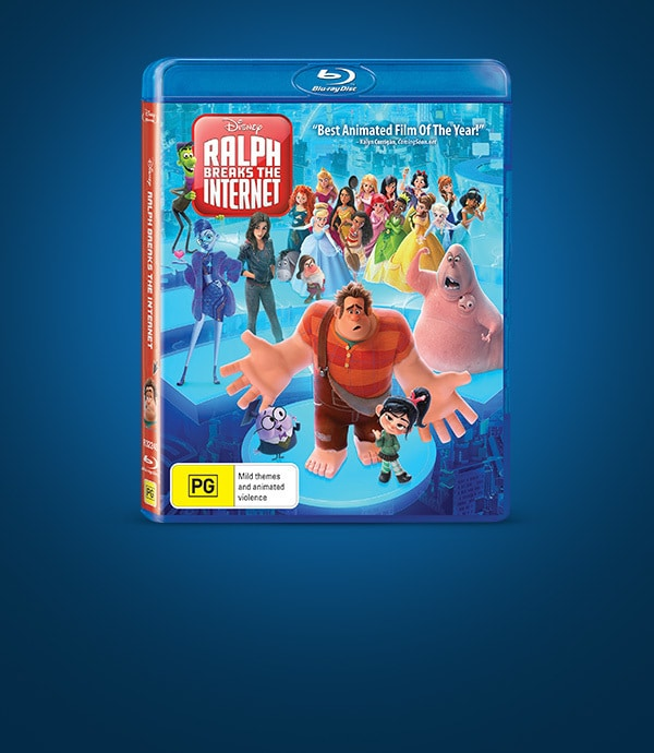 Ralph Breaks The Internet at Home