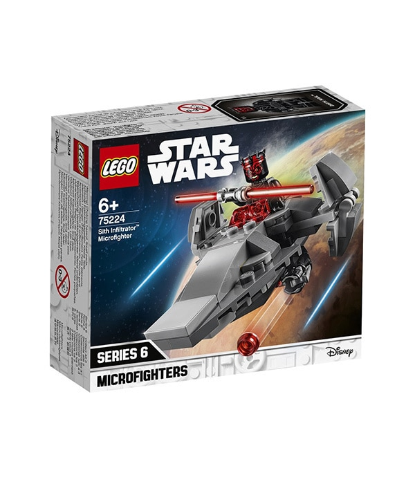 LEGO Sith Infiltrator Microfighter