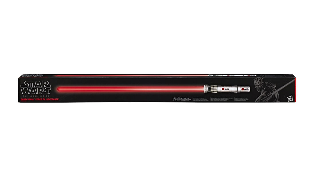 Darth Maul Force FX Lightsaber