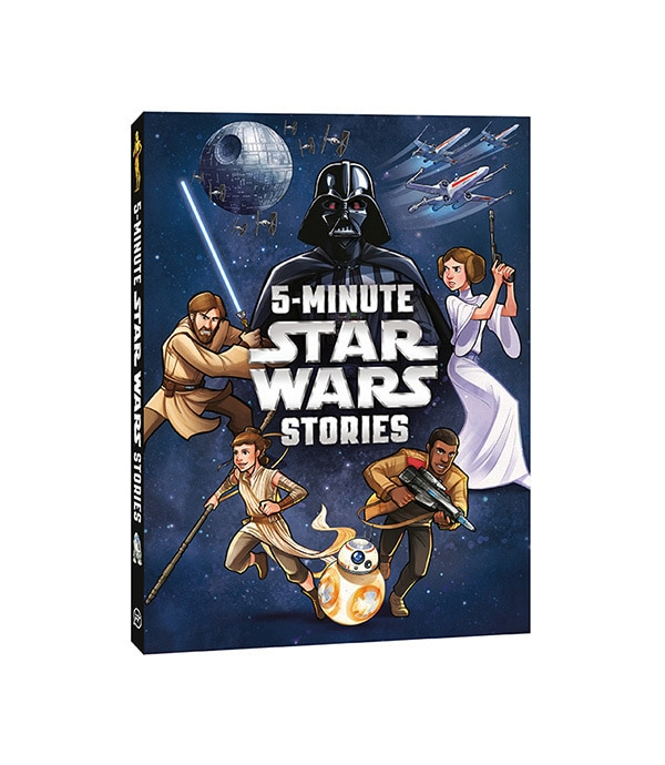 Shop - Star Wars - Novelty and Books - 5-Minute Stories Star Wars