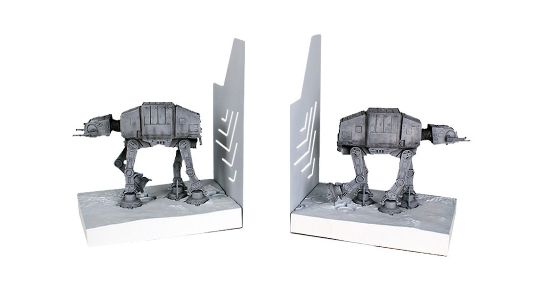Shop Star Wars - Products We Love - AT-AT Mini Bookends
