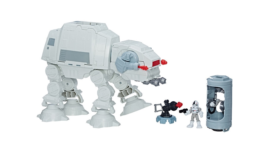 Shop Star Wars - Toys - Galactic Heroes Imperial AT-AT Fortress Playset