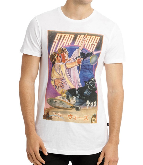 Shop - Star Wars - Clothing and Accessories - Retro Poster Tee