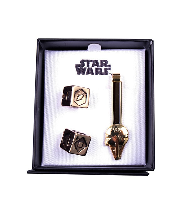 Shop - Star Wars - Clothing and Accessories - Tie Clip and Cuff-link Set
