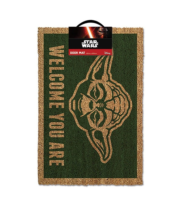 Shop Star Wars - At Home - Yoda Outdoor Doormat