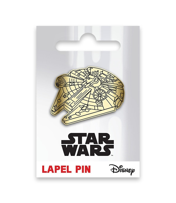Millenium Falcon Lapel Pin