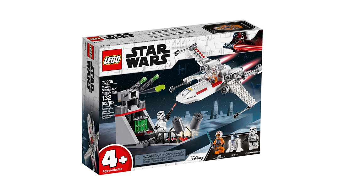 LEGO X-Wing Starfighter Trench Run