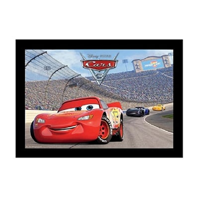 Cars 3 Gel Coated Framed Print