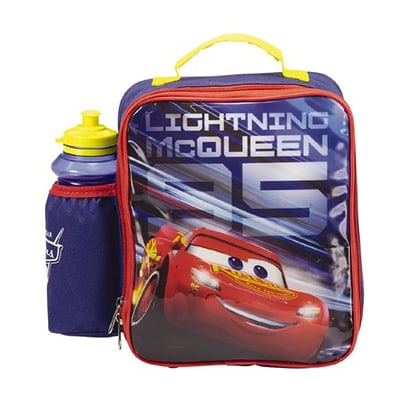 Cars Lunch Bag and Bottle