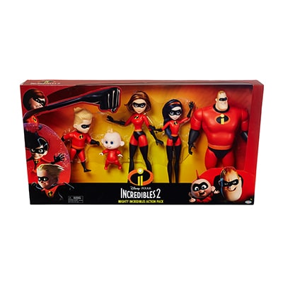 Mighty Incredibles Action Pack