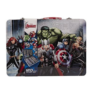 Avengers Tin Art Set