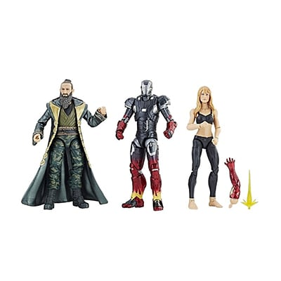 Marvel Iron Man, Pepper Potts and Mandarin Action Figure