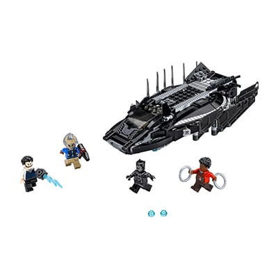 Lego Black Panther Royal Talon Fighter Attack