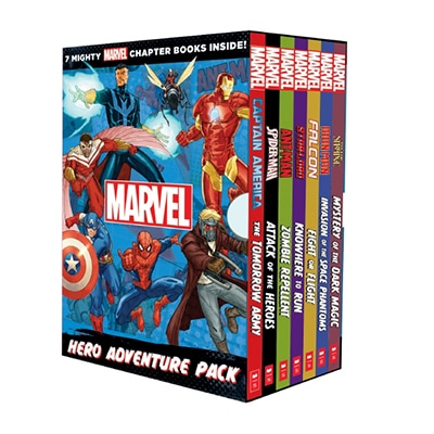Mighty Marvel Chapter Book Set