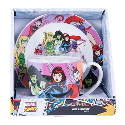 Women of Marvel Teacup and Saucer Set