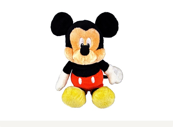 Classic Mickey plush and more from Amazon