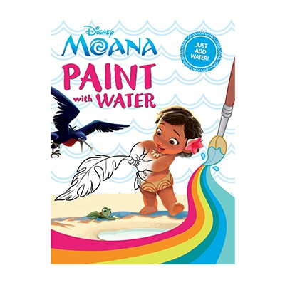 Moana Paint With Water
