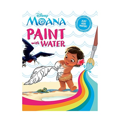 Moana Paint with Water Book