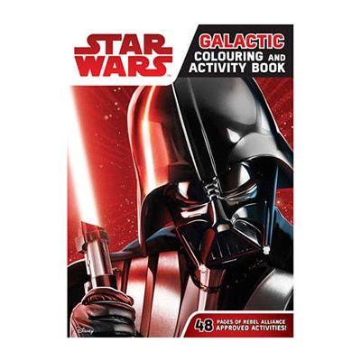 Galactic Colouring And Activity Book