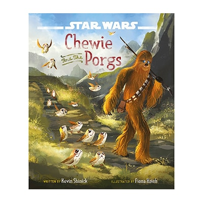 Star Wars Chewie And The Porgs