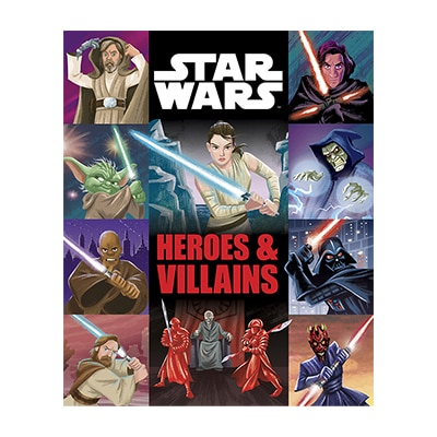 Shop AU - Star Wars - Star Wars Heroes And Villains