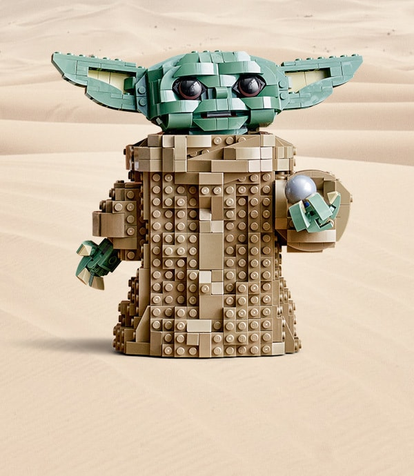 The Child LEGO from Star Wars: The Mandalorian