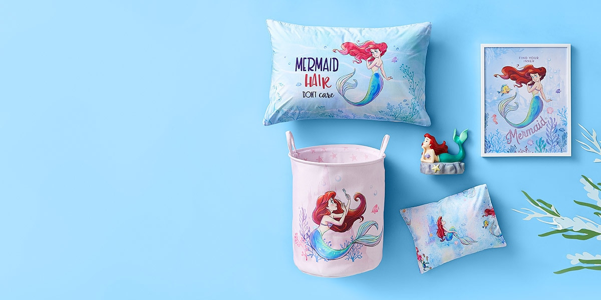 Shop The Little Mermaid Collection from Adairs