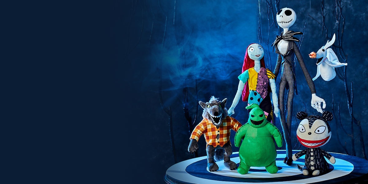 Toys from The Nightmare Before Christmas range from shopDisney UK