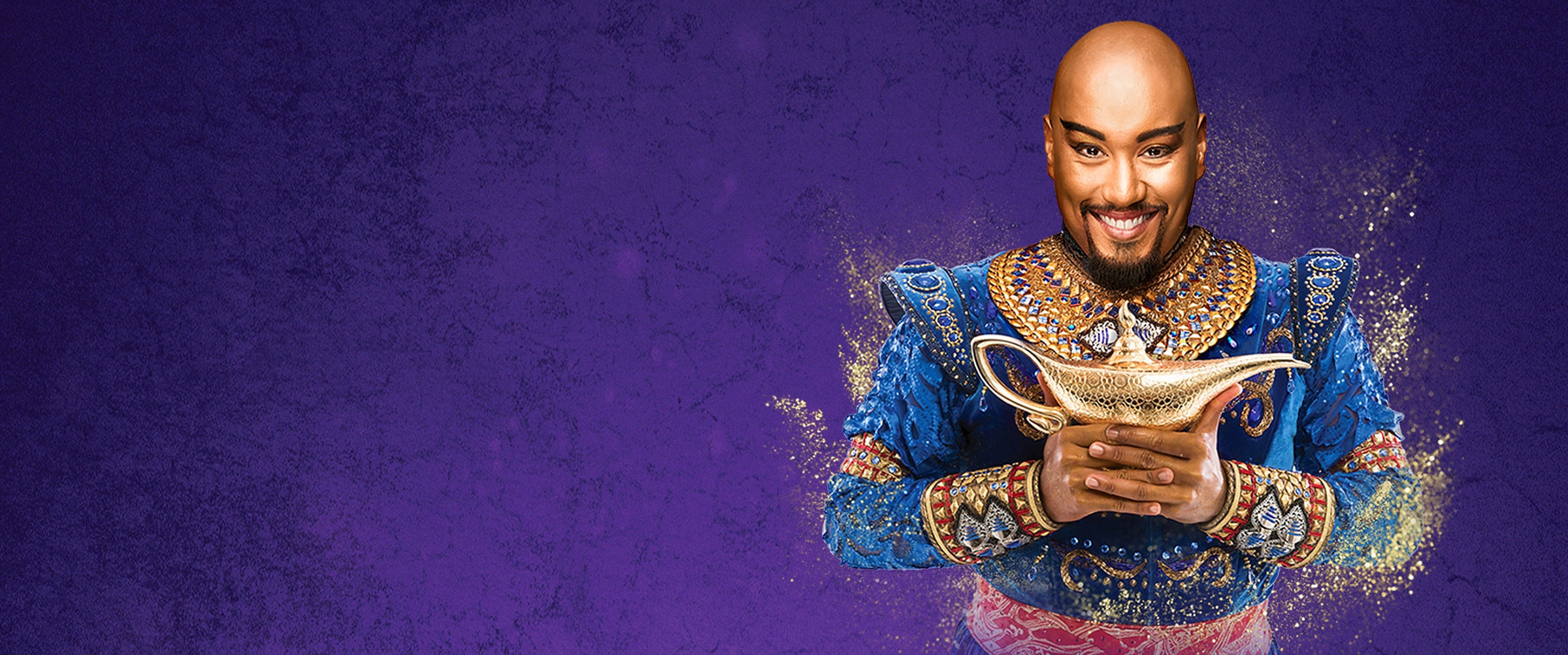 Live Shows AU - Aladdin Musical Genie - Hero