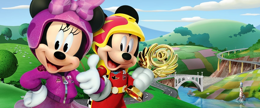 disney jr tv shows. mickey and the roadster racers disney jr tv shows