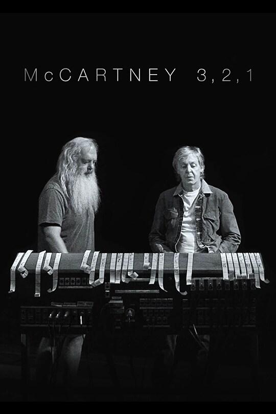 McCartney 3,2,1 poster