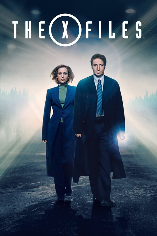 The X-Files series poster