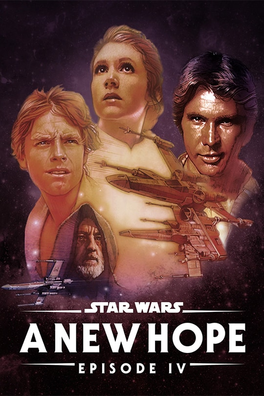 Star Wars: A New Hope (Episode IV) poster