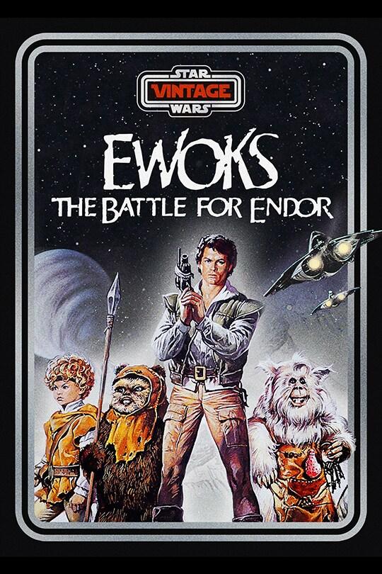 Star Wars Vintage: Ewoks: The Battle for Endor poster