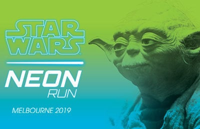 Star Wars Neon Run in Melbourne