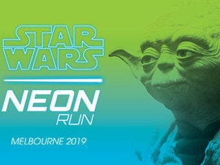 May 4 will see Melbourne alive with the Force for the Star Wars Neon Run