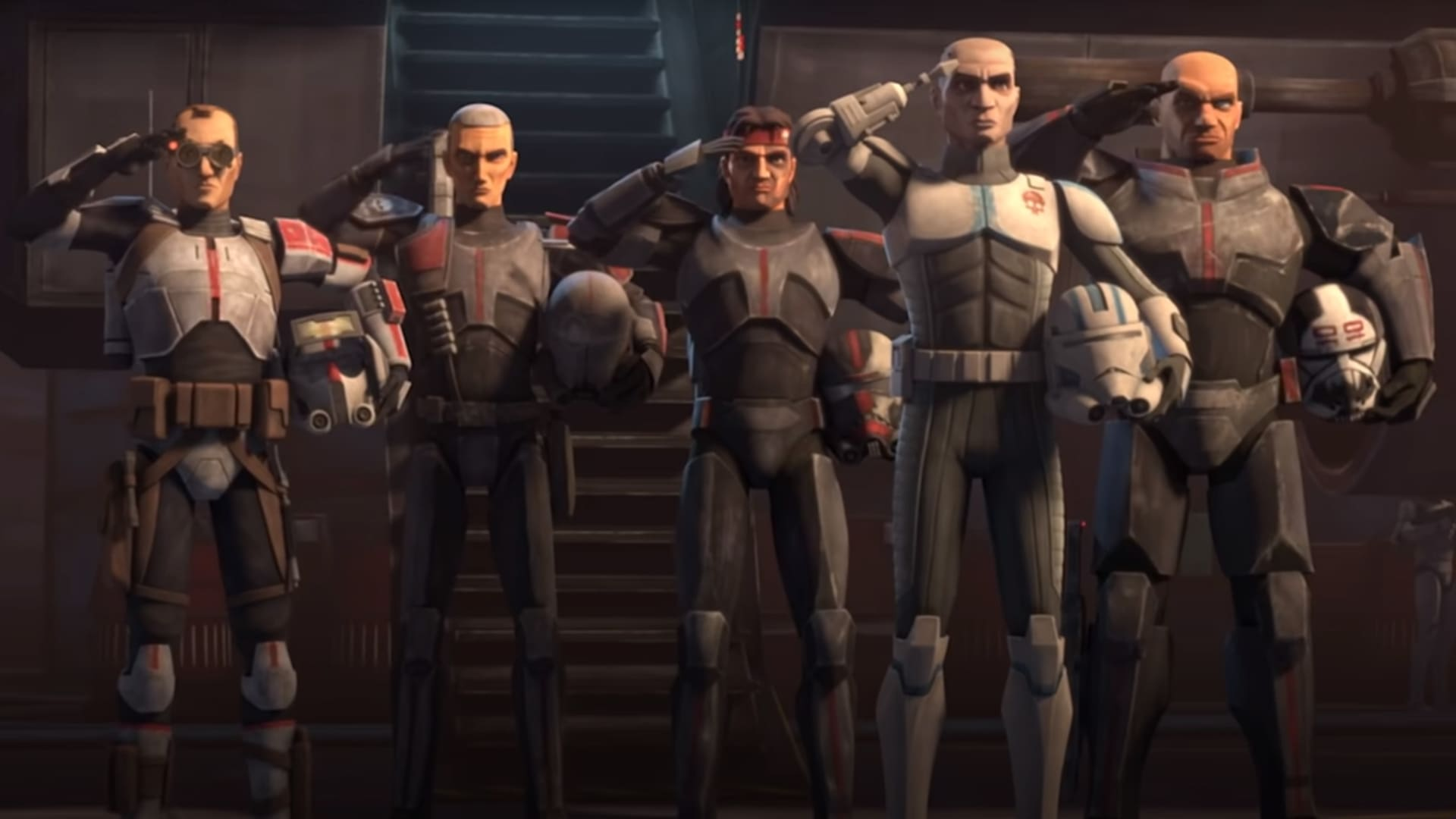When we last saw the Bad Batch in Star Wars: The Clone Wars