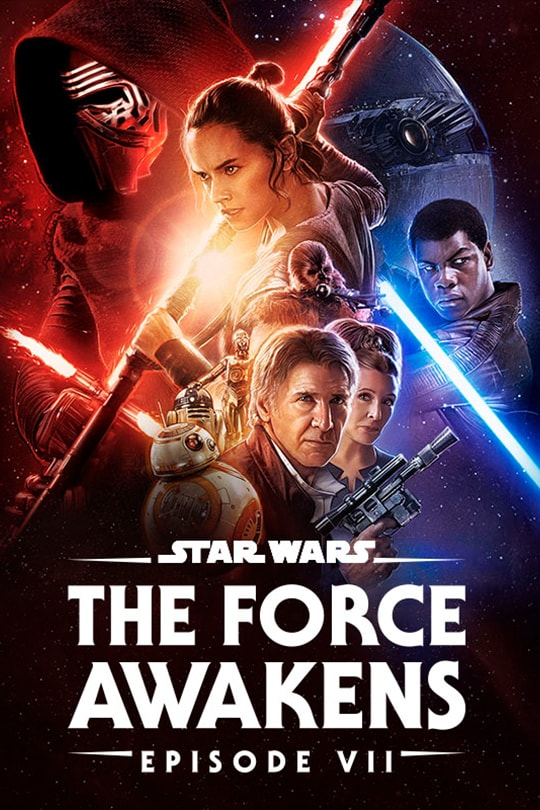 Star Wars: The Force Awakens (Episode VII) poster
